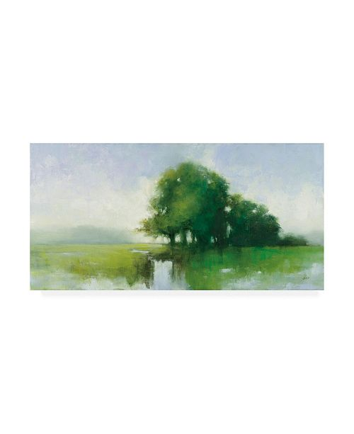 "Trademark Global Julia Purinton River Romance Canvas Art - 15.5"" x 21"""