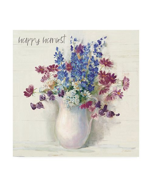 "Trademark Global Carol Rowan Harvest Ironstone Bouquet II Canvas Art - 15.5"" x 21"""