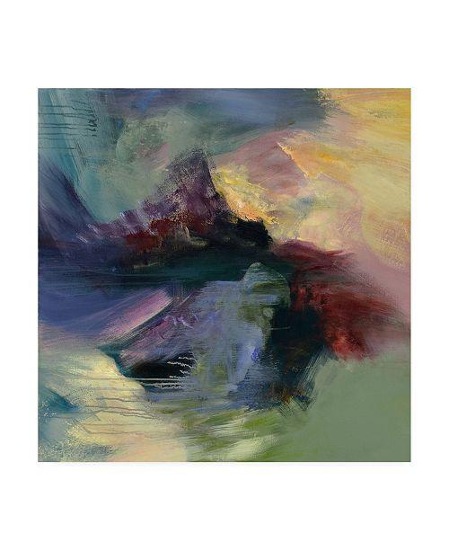 "Trademark Global Emilia Aran Monsoon Canvas Art - 36.5"" x 48"""