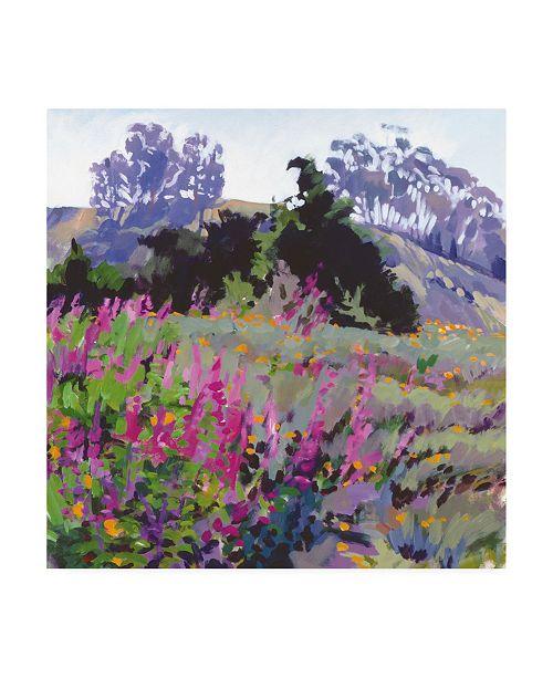"Trademark Global Marcia Burt Spring Haze, Eucalyptus on the Ridge Canvas Art - 36.5"" x 48"""