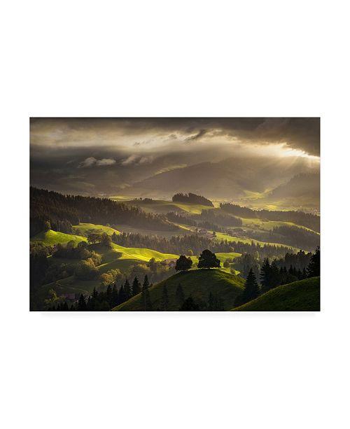"Trademark Global Enrico Fossat The Shire Light Canvas Art - 15.5"" x 21"""