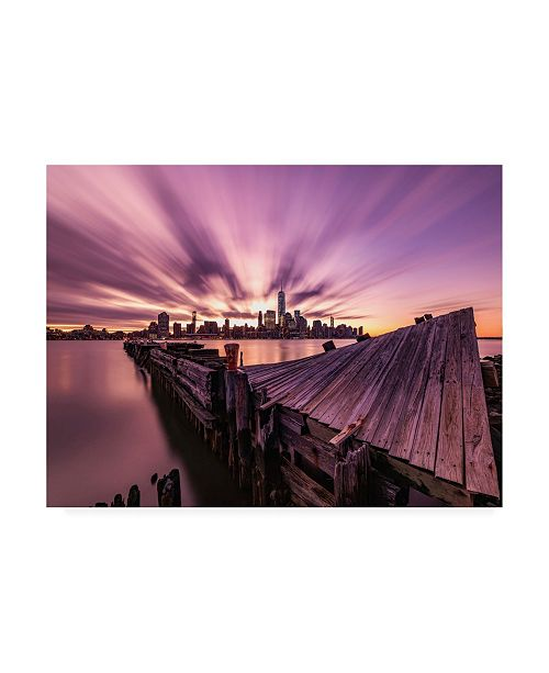 "Trademark Global Bruce Gett Morning Explosion Canvas Art - 27"" x 33.5"""