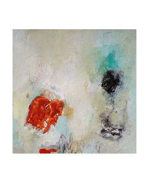 """Trademark Global Nicole Hoef Can Almost Reach Canvas Art - 15.5"""" x 21"""""""