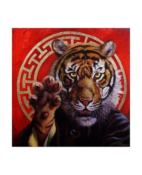 "Trademark Global Lucia Hefferna Legend of Tiger Claw Canvas Art - 15.5"" x 21"""