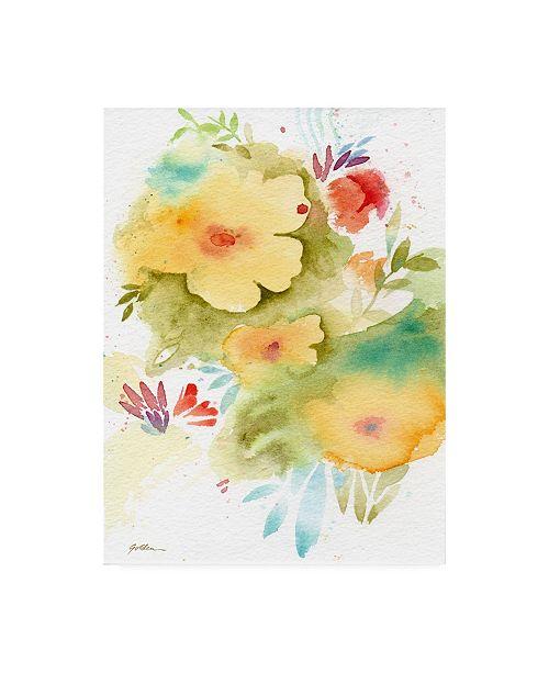 "Trademark Global Sheila Golde Fiesta Flowers Canvas Art - 27"" x 33.5"""
