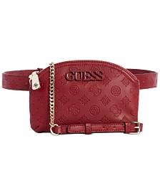 GUESS Janelle Convertible Crossbody Belt Bag