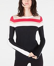 INC Illusion-Stripe Sweater, Created for Macy's