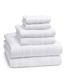 Cassadecor Astor 6-Pc. Combed Cotton Towel Set