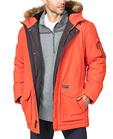 Men's Logan Faux-Fur-Trim Parka