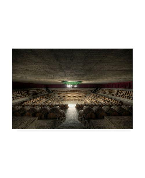 "Trademark Global Marco Romani The Wine Temple Canvas Art - 15"" x 20"""
