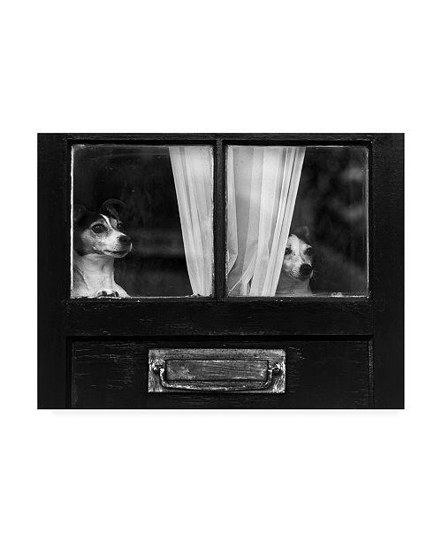 "Trademark Global Peter Davidson Home Alone Canvas Art - 20"" x 25"""