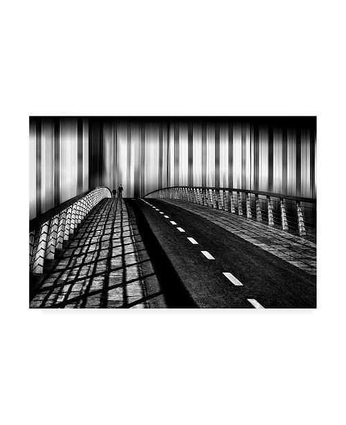 "Trademark Global Samanta Krivec Escape from the City Canvas Art - 15"" x 20"""
