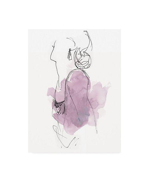 "Trademark Global June Erica Vess Fashion Splash I Canvas Art - 20"" x 25"""