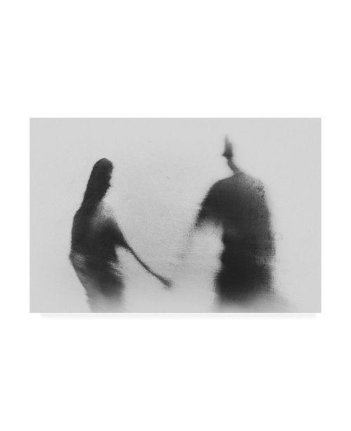 "Trademark Global Jay Satriani Memories in Love Canvas Art - 37"" x 49"""