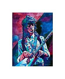 "David Lloyd Glover Keith Richards a Rolling Stone Canvas Art - 20"" x 25"""