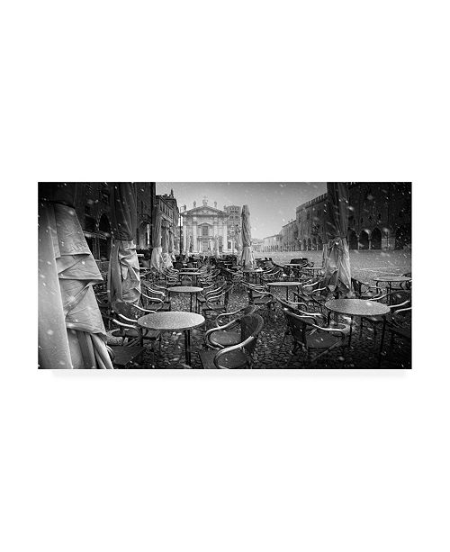 """Trademark Global Luca Rebustini Just the Way I Dream My City 2 Canvas Art - 37"""" x 49"""""""