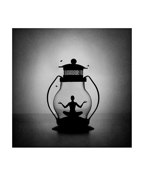 "Trademark Global Victoria Ivanova The Inner Light Meditation Canvas Art - 27"" x 33"""