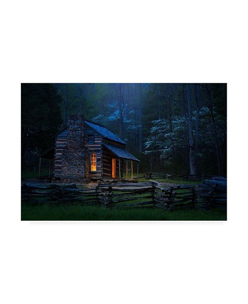 """Trademark Global Jw Photography Back to Good Old Days Canvas Art - 37"""" x 49"""""""