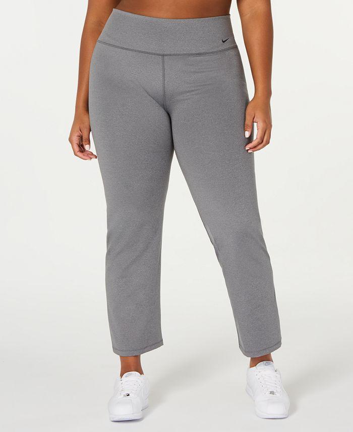 Nike - Plus Size High-Rise Gym Pants