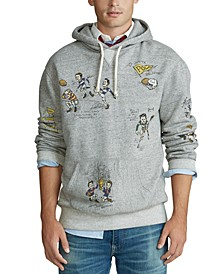 Men's Big & Tall Vintage Fleece Hooded Sweatshirt