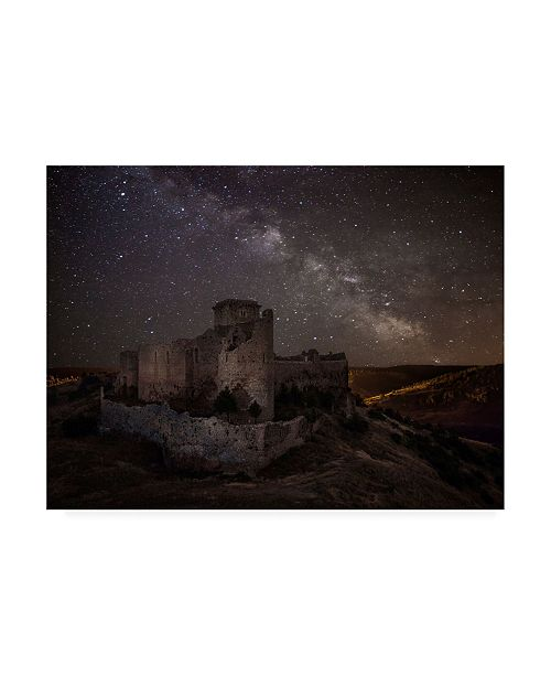 "Trademark Global Martin Zalba Ucero Castle Canvas Art - 20"" x 25"""