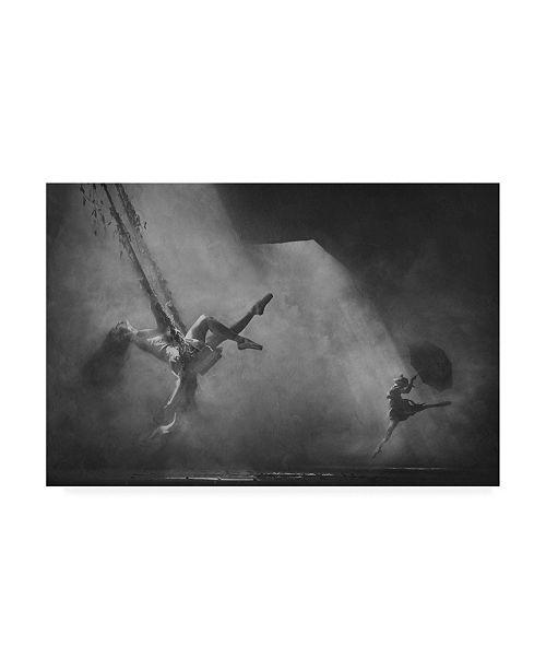"Trademark Global Sebastian Kisworo Dancing Above the Clouds Canvas Art - 15"" x 20"""