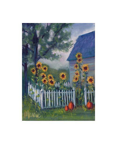"Trademark Global Marnie Bourque Ekonk Garden Canvas Art - 37"" x 49"""