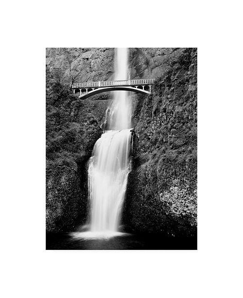 "Trademark Global Monte Nagler Multnomah Falls Colombia River Gorge Oregon Canvas Art - 20"" x 25"""
