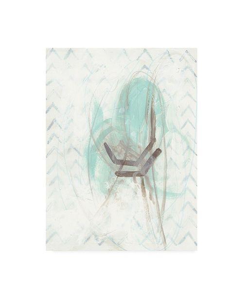 "Trademark Global June Erica Vess Pattern Logic I Canvas Art - 20"" x 25"""