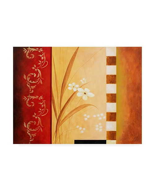 "Trademark Global Pablo Esteban White on Panels 1 Canvas Art - 27"" x 33.5"""