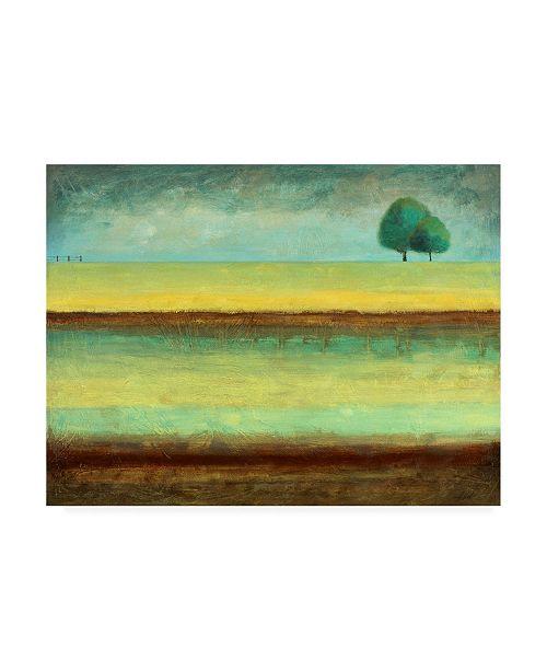 "Trademark Global Pablo Esteban Singled Trees Painted 2 Canvas Art - 27"" x 33.5"""
