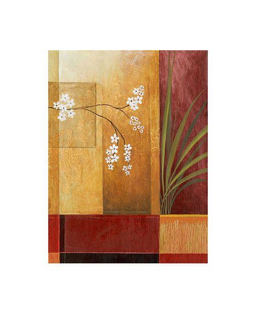 "Trademark Global Pablo Esteban Palm on Right Canvas Art - 27"" x 33.5"""