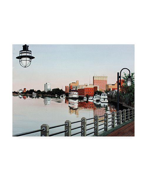 "Trademark Global Patrick Sullivan Waterfront 2 Canvas Art - 36.5"" x 48"""