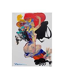 """Tadeo Zavaleta Big Red Heart Canvas Art - 36.5"""" x 48"""""""