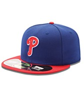 d91fec011eb Cap Philadelphia Phillies Hats   Caps - Macy s