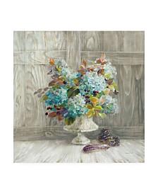 "Danhui Nai Rustic Florals Canvas Art - 15.5"" x 21"""