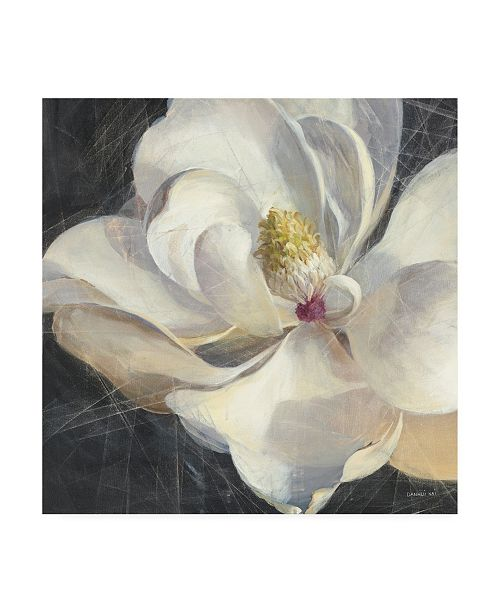 "Trademark Global Danhui Nai Vivid Floral IV Crop Canvas Art - 36.5"" x 48"""