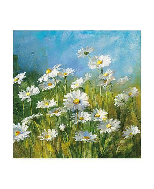"Trademark Global Danhui Nai Summer Field II Canvas Art - 15.5"" x 21"""