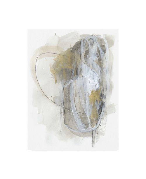 "Trademark Global June Erica Vess Turbulent II Canvas Art - 27"" x 33.5"""