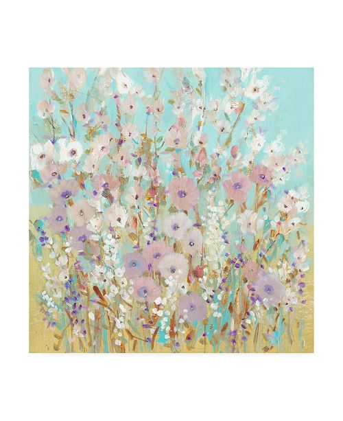 "Trademark Global Tim O'Toole Mixed Flowers I Canvas Art - 15.5"" x 21"""