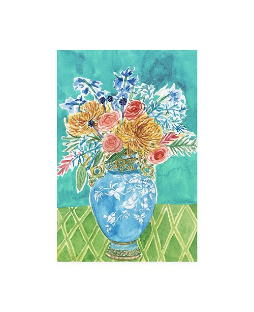 "Trademark Global Melissa Wang Morning Break IV Canvas Art - 15.5"" x 21"""