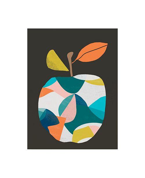 "Trademark Global June Erica Vess Fab Fruit III Canvas Art - 27"" x 33.5"""