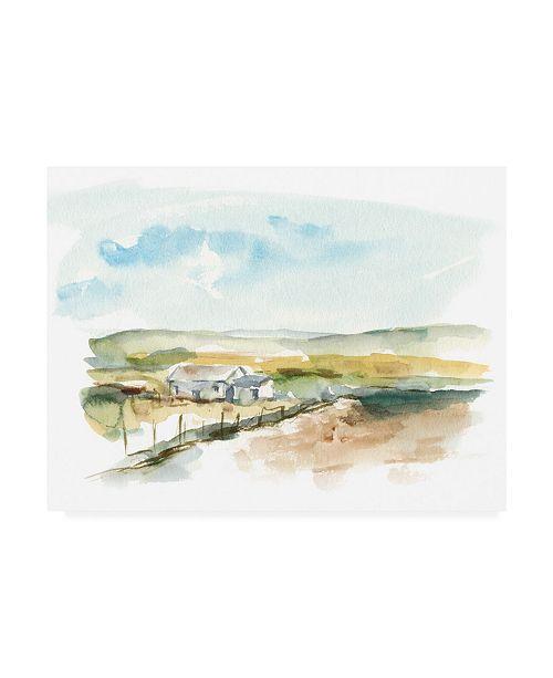 """Trademark Global Ethan Harper Rural Plain Air III Canvas Art - 27"""" x 33.5"""""""