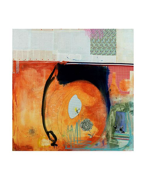"""Trademark Global Michel Keck Beg to Differ Canvas Art - 19.5"""" x 26"""""""