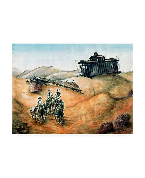 "Trademark Global Peter Potter Rough Riders Canvas Art - 27"" x 33.5"""