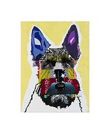 "Michel Keck Scottie Canvas Art - 15.5"" x 21"""
