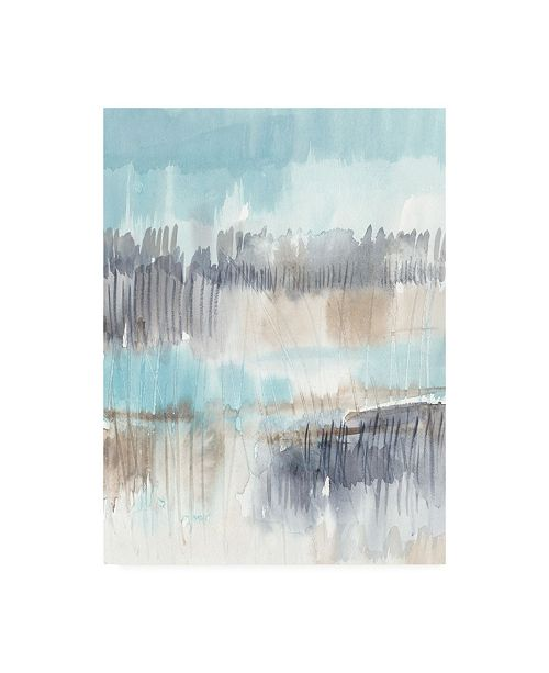 "Trademark Global Jennifer Goldberger Sky Marsh I Canvas Art - 27"" x 33.5"""