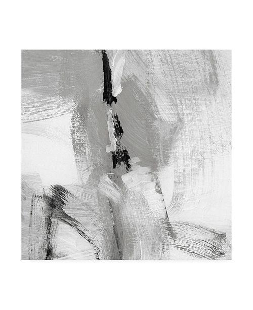 "Trademark Global Christina Long Soft Grey I Canvas Art - 19.5"" x 26"""