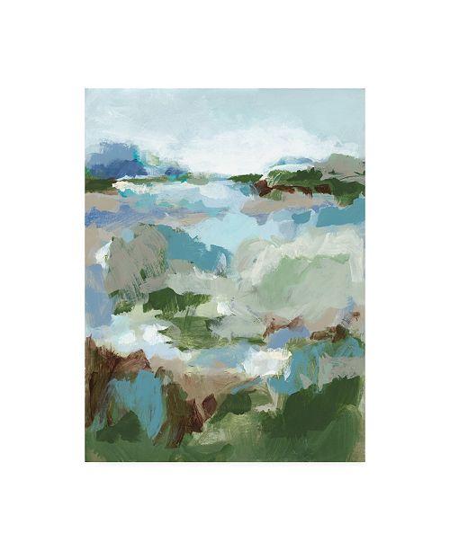 "Trademark Global Christina Long Long Road Home II Canvas Art - 27"" x 33.5"""