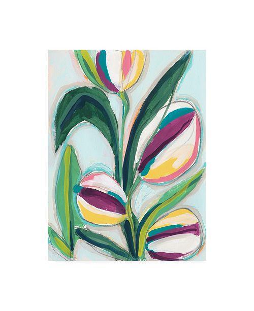 "Trademark Global June Erica Vess Bright Bounty II Canvas Art - 27"" x 33.5"""